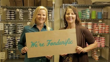 Capture sweet global success--like Fondarific--by partnering and integrating with UPS.